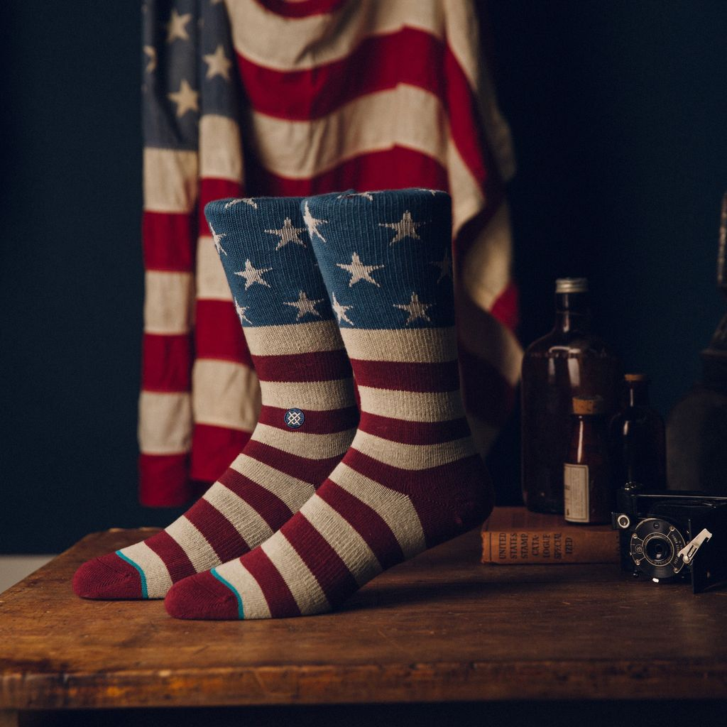 Stance Stance The Fourth Blue Collection Classic Light Socks