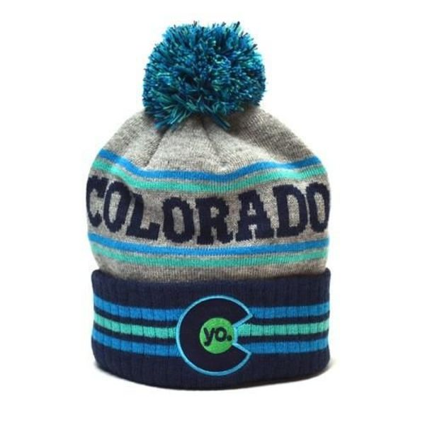 KIDS GLACIER STRIPES BEANIE