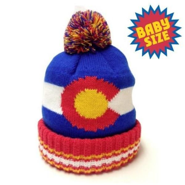 LIL STATE COLORADO FLAG BEANIE