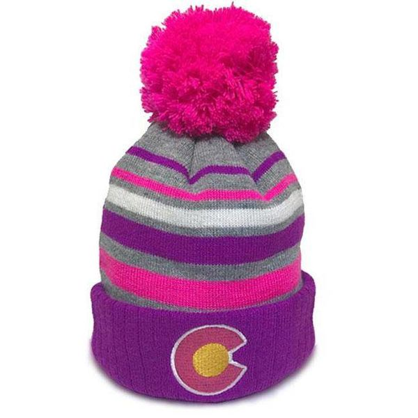 THE RAZ STRIPED KIDS BEANIE