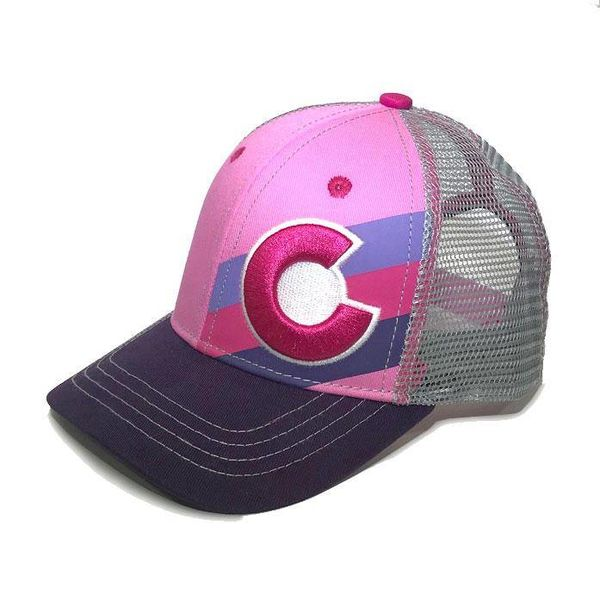 KIDS (3-7Y) PINK BERRY INCLINE TRUCKER