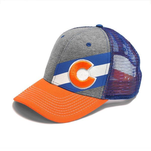 ADULT INCLINE COLORADO TRUCKER HAT - CRUSH