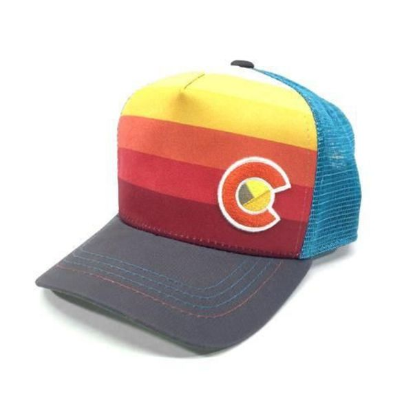 KIDS (3-7Y) SUNSET FADER TRUCKER HAT
