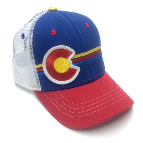 KIDS (3-7Y) CANDYSTRIPE TRUCKER HAT