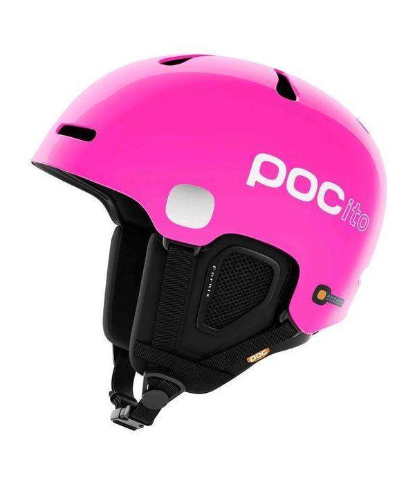 POC SKI HELMETS POCITO FORNIX - FLUORESCENT PINK