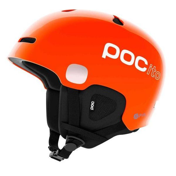POCITO AURIC CUT SPIN HELMET - FLUORESCENT ORANGE