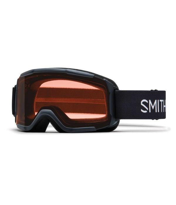 SMITH DAREDEVIL OTG GOGGLE - BLACK WITH RC36 LENS - YOUTH MEDIUM
