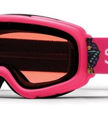 SMITH GAMBLER GOGGLES - CRAZY PINK WITH RC36 LENS SIZE YOUTH SMALL/MEDIUM