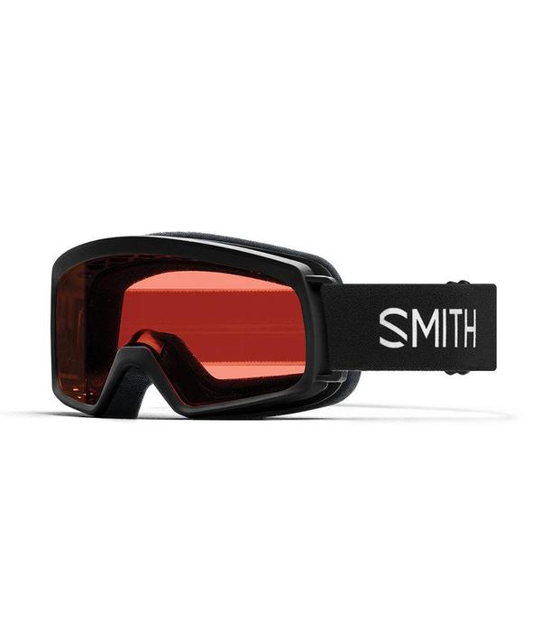 SMITH RASCAL GOGGLES - BLACK WITH RC36 LENS - SIZE YOUTH SMALL