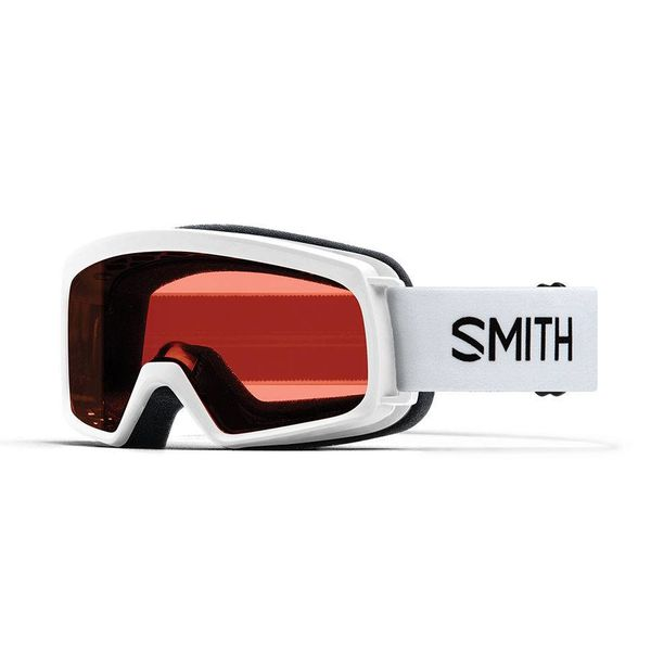 RASCAL GOGGLES - WHITE WITH RC36 LENS - SIZE YOUTH SMALL