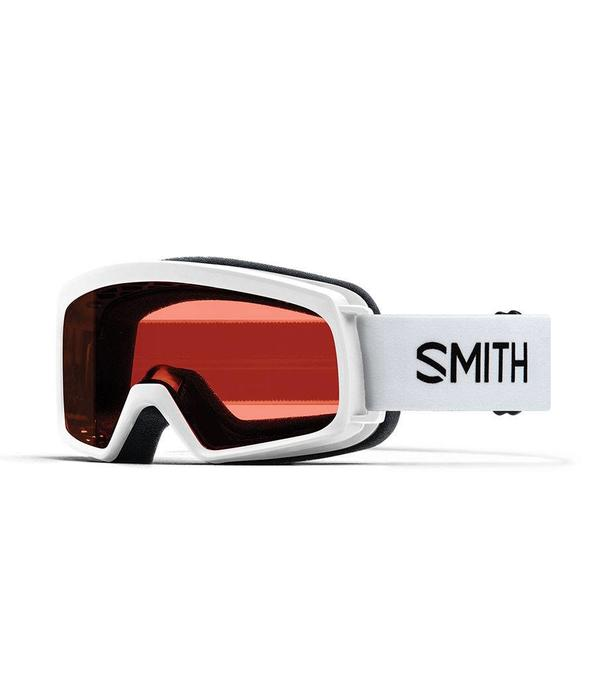 SMITH RASCAL GOGGLES - WHITE WITH RC36 LENS - SIZE YOUTH SMALL