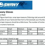 SWANY KIDS SKI GLOVES WOMEN'S LEGEND MITTEN - BLACK