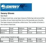 SWANY KIDS SKI GLOVES JUNIOR X-CHANGE MITTEN - WHITE