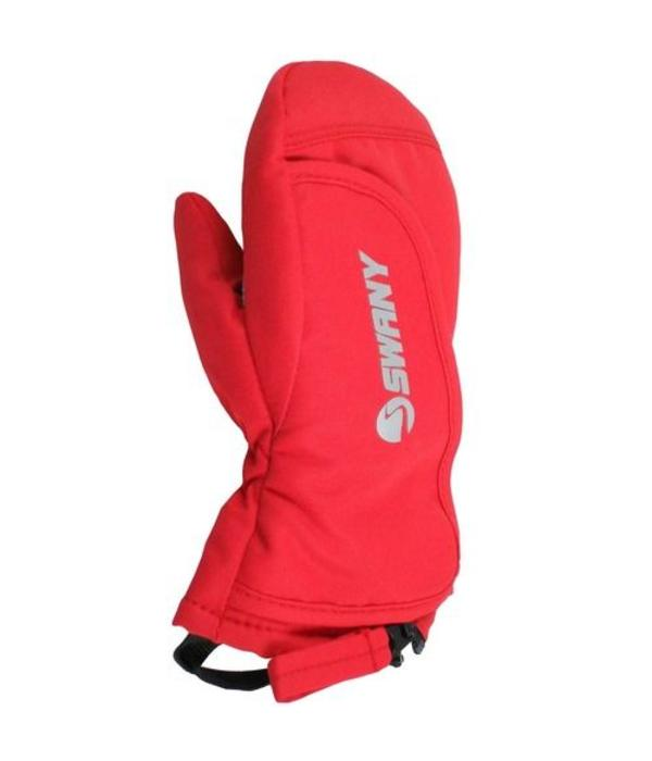 SWANY TODDLER ZAP MITT - RED - AGES 1-2 YEARS ONLY