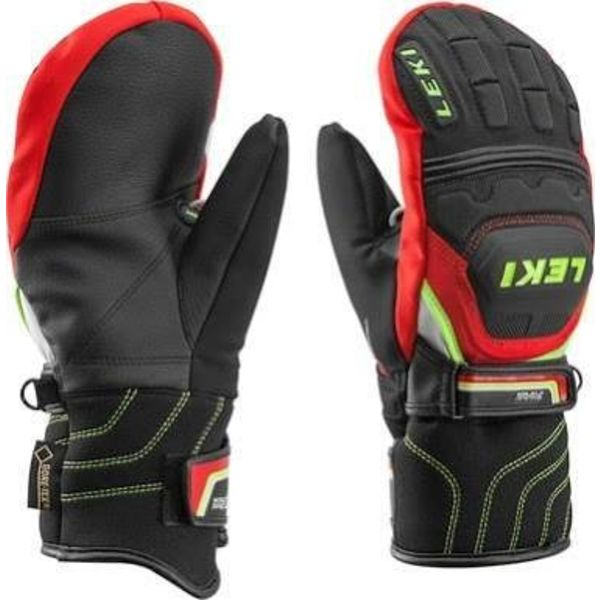 WC RACE FLEX JR MITT- BLK/RED