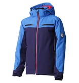 DESCENTE JUNIOR BOY'S SWISS JUNIOR JACKET - NAVY/BLUE/GREY/RED