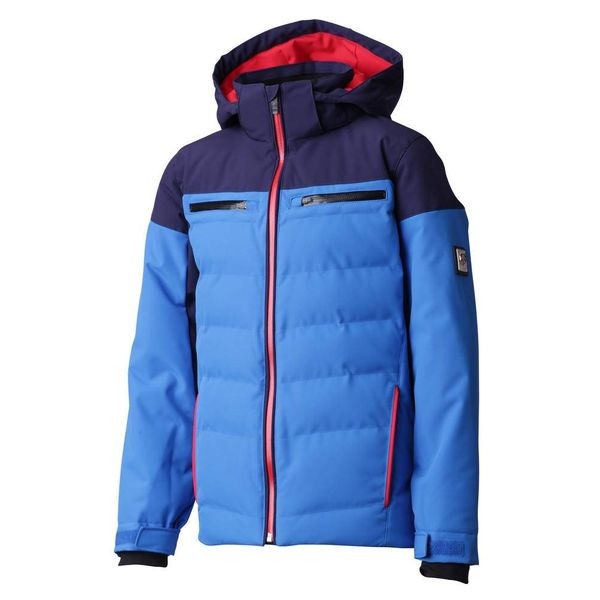 JUNIOR BOY'S LEONIE JACKET - BLUE/NAVY/RED