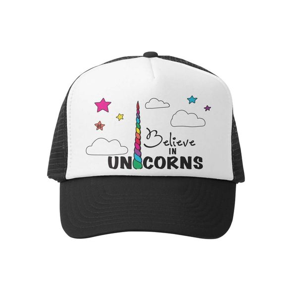 BELIEVE IN UNICORNS - BLACK