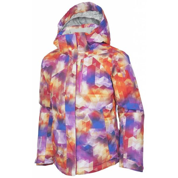JUNIIOR GIRLS NAQUITA JACKET - MAGENTA PRINT