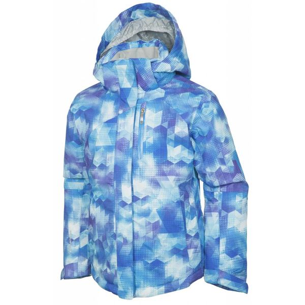 JUNIIOR GIRLS NAQUITA JACKET - AZURE PRINT
