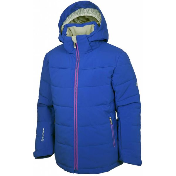 JUNIOR GIRLS MADISON JACKET - COBALT