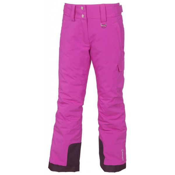 JUNIOR GIRLS ZOE PANT - MAGENTA - SIZE 16 ONLY