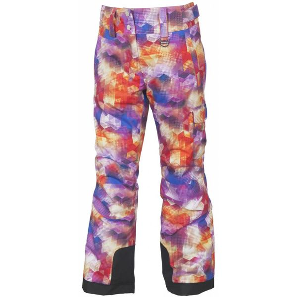 JUNIOR GIRLS ZOE PANT - MAGENTA PRINT