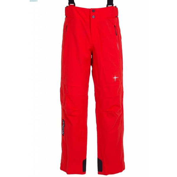 NORWAY SALOPETTE PANT RED SIZE18