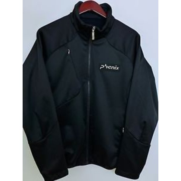 PHENIX BLACK SOFTSHELL JACKET - BLACK - SMALL ONLY