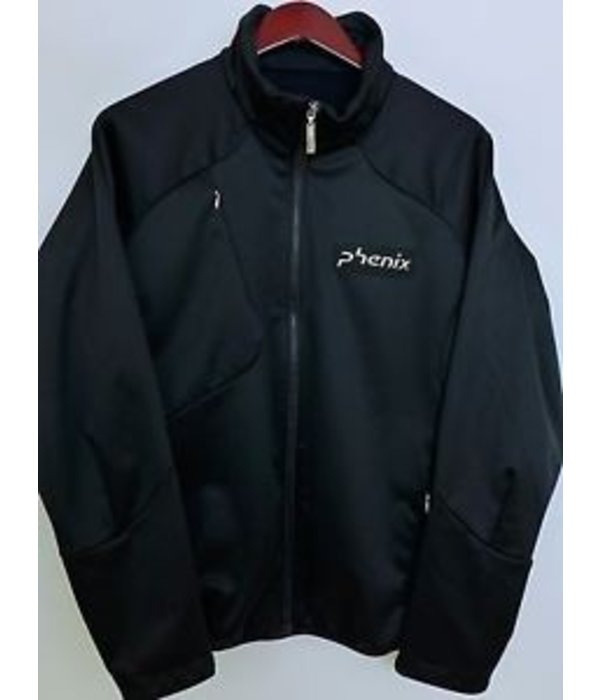 PHENIX PHENIX BLACK SOFTSHELL JACKET - BLACK - SMALL ONLY
