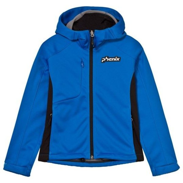 PHENIX ESSENTIAL SOFTSHELL JACKET - BLUE - SIZE SMALL ONLY