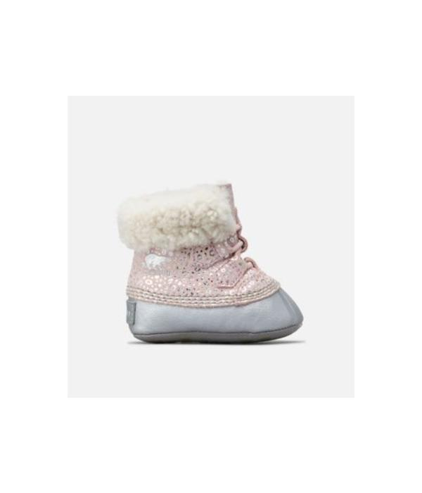 SOREL BABY CARIBOOTIE - DUSTY PINK - SIZE 1 ONLY
