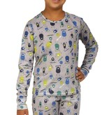 HOT CHILLYS YOUTH MIDWEIGHT CREW - DOODS - SIZE XSMALL 4/6 ONLY