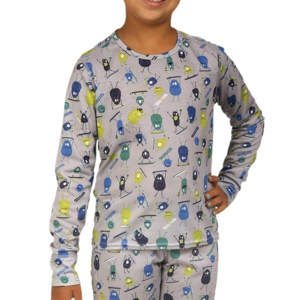 YOUTH MIDWEIGHT CREW - DOODS - SIZE XSMALL 4/6 ONLY