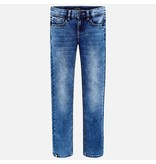 MAYORAL JUNIOR BOYS SOFT JEANS - BASIC - SIZE 18 ONLY