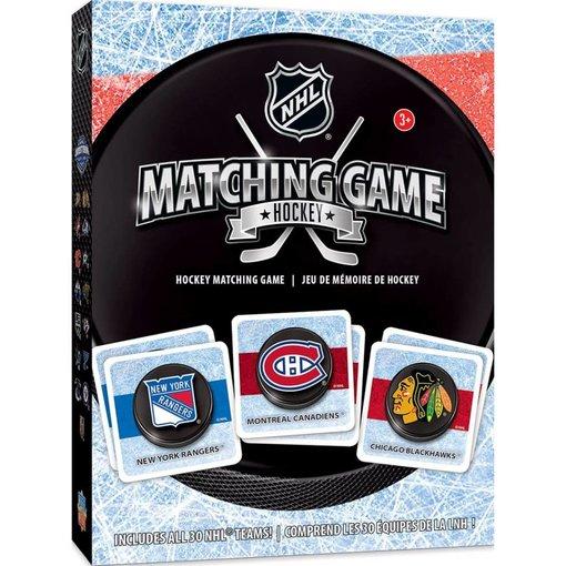 MASTER PIECES NHL MATCHING GAME