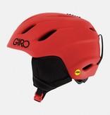 GIRO NINE JR MIPS HELMET MATTE - BRIGHT RED - SIZE MEDIUM 55.5-59CM ONLY