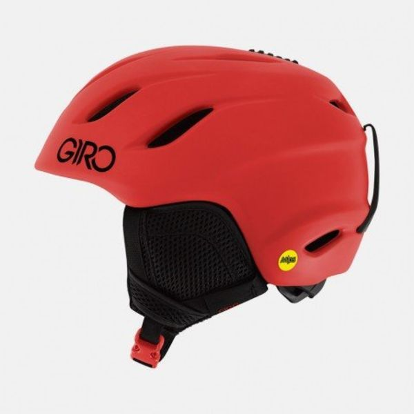 NINE JR MIPS HELMET MATTE BRIGHT RED
