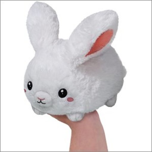 "SQUISHABLES 7"" FLUFFY BUNNY"