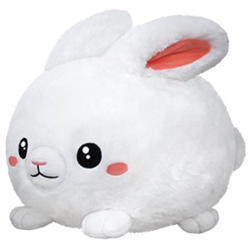 "SQUISHABLES 15"" FLUFFY BUNNY"