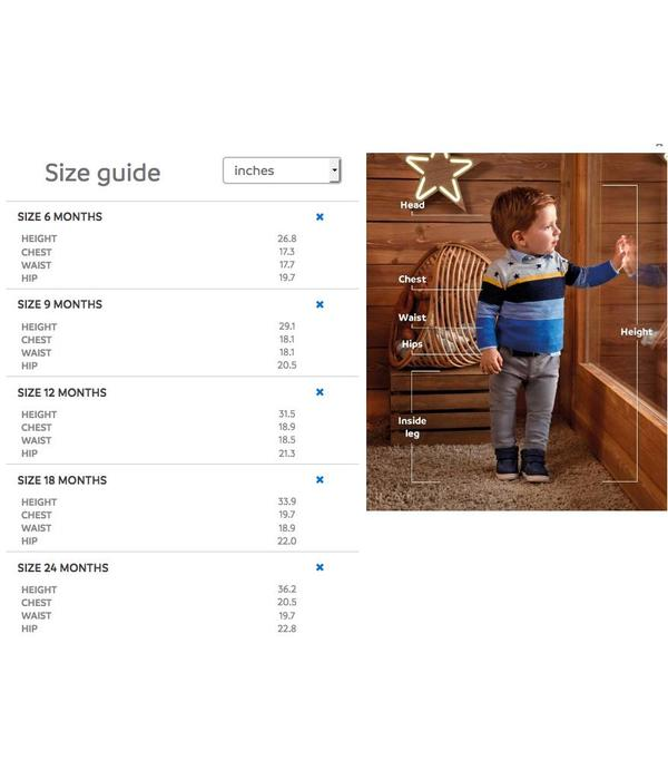 MAYORAL INFANT BOYS SOFT DENIM TROUSERS - BASIC