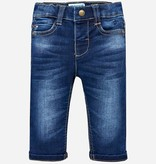 MAYORAL INFANT BOYS SOFT DENIM TROUSERS - DARK