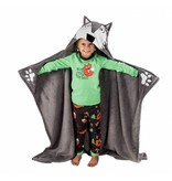 LAZY ONES WOLF CRITTER BLANKET