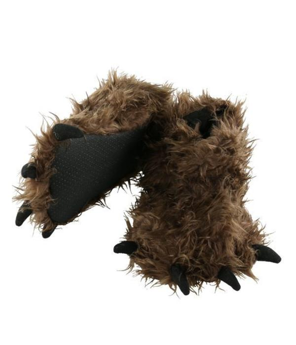 LAZY ONES BIGFOOT PAW SLIPPERS