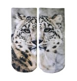 LIVING ROYAL SNOW LEOPARD ANKLE SOCKS