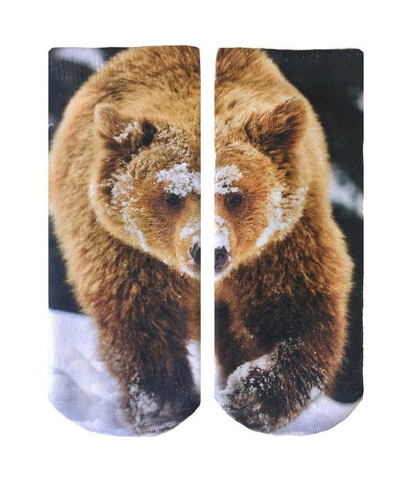 LIVING ROYAL BEAR ANKLE SOCKS