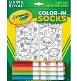 LIVING ROYAL PUPPY VIBES CRAYOLA COLOR IN SOCKS