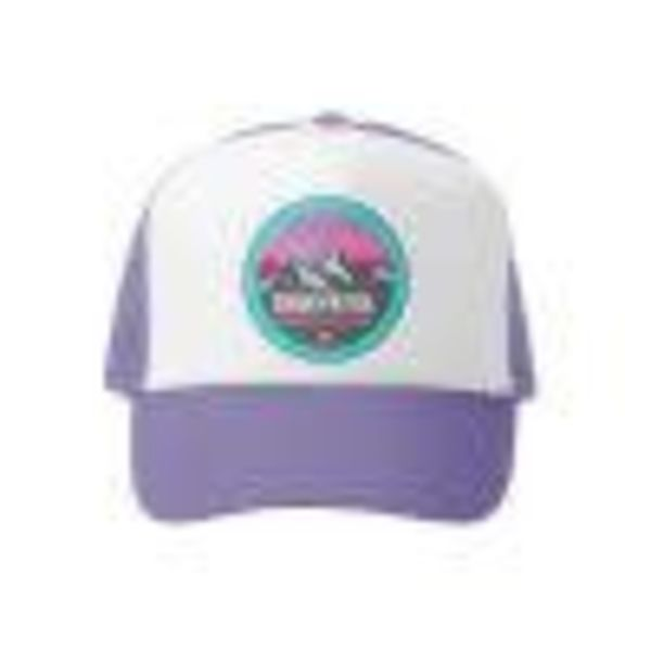 MOUNTAIN PATROL GIRLS TRUCKER HAT -LAVENDAR