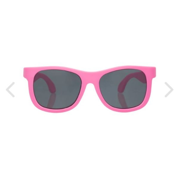 BABIATORS NAVIGATOR SUNGLASSES - THINK PINK 3-5 YEARS