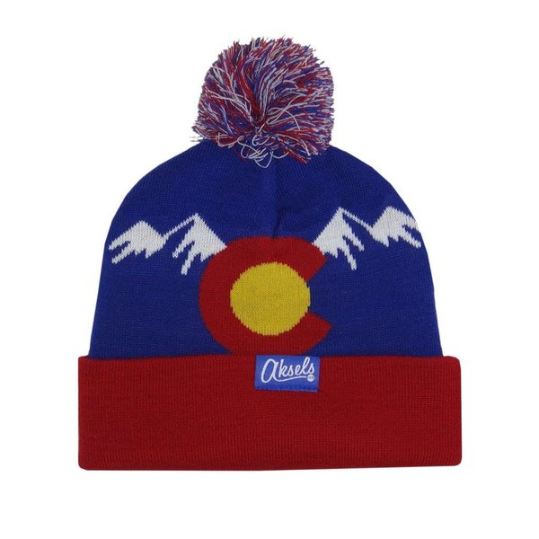 COLORADO MOUNTAIN BEANIE - ROYAL